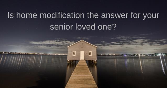 home modification for senior living