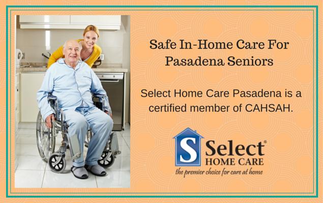 safe in-home care for pasadena seniors