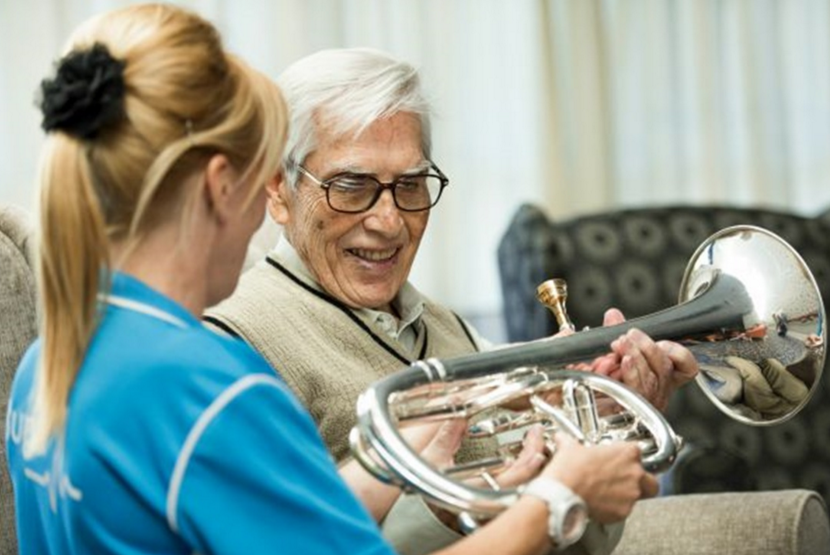 the benefits of musical therapy in the elderly